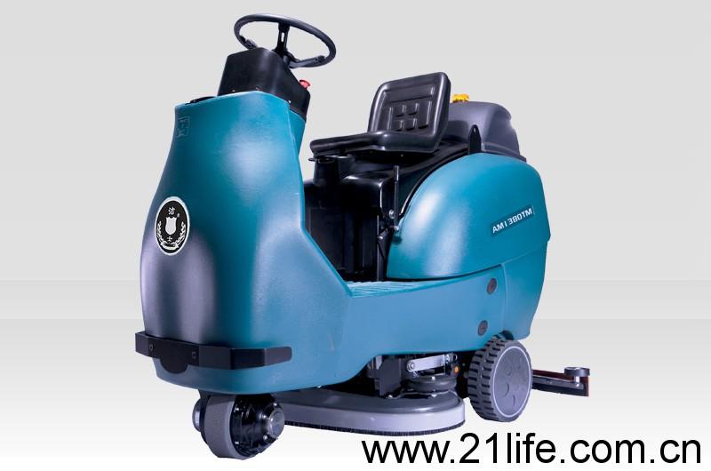 洁驰BA900BT双刷驾驶式洗地机(洁士AM1380TM大型电动双刷驾驶式洗地吸干机)(适用于工厂、超市、地下车库、医院、汽车站、火车站、高铁站、飞机场等)
