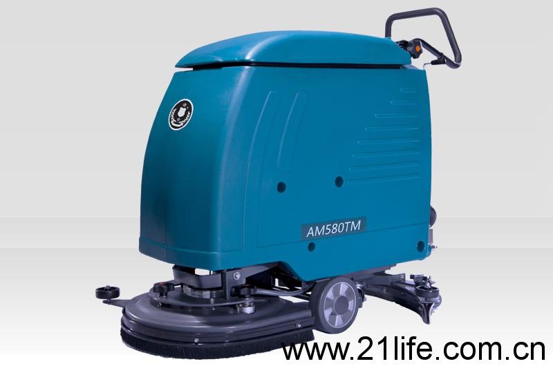 洁驰BA530BT/洁驰BA530ET手推式洗地机,洁士中型AM580TM电动手推式洗地吸干机