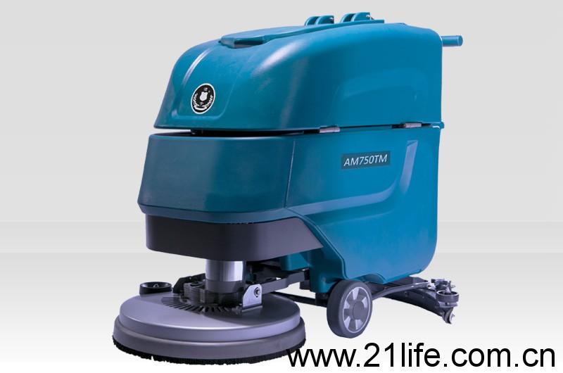 洁驰BA680BT电动手推式洗地机,洁士大型AM750TM电动手推式洗地吸干机