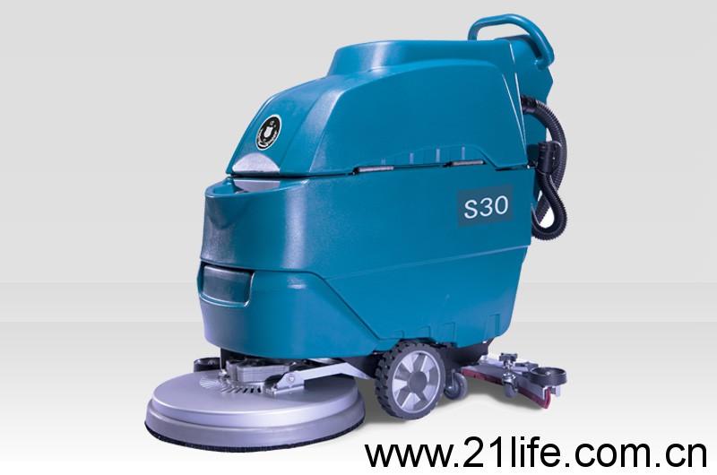 洁驰A3电动手推式洗地机,洁士中型S30电动手推式洗地吸干机