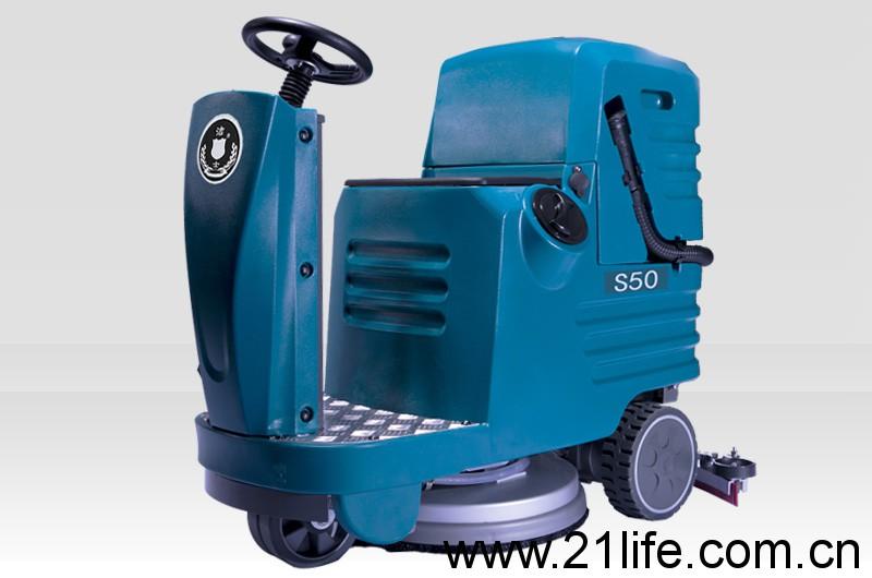 洁驰A5驾驶式洗地机(洁士S50中型电动驾驶式洗地吸干机)(适用于工厂、超市、地下车库、医院、汽车站、火车站、高铁站、飞机场等)