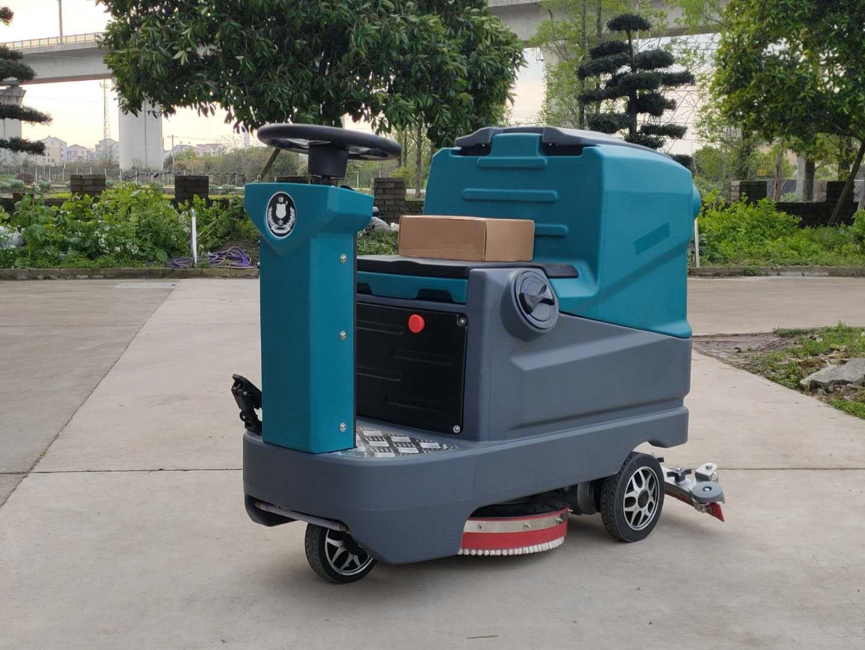 (洁士S40小型电动驾驶式洗地吸干机)(适用于工厂、超市、地下车库、医院、汽车站、火车站、高铁站、飞机场等)