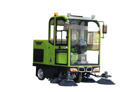 洁士M10A全封闭驾驶式扫地机,驾驶式扫地车