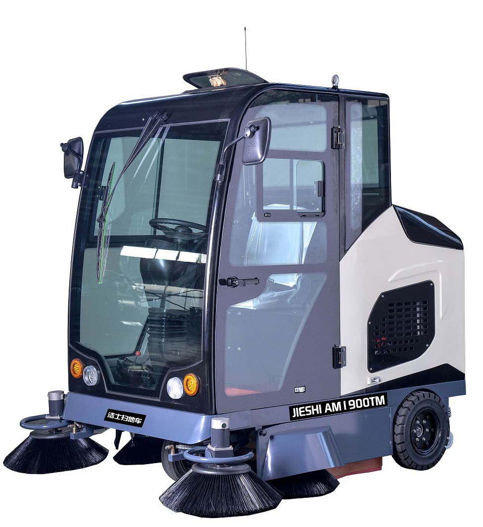 洁士AM1900TM全封闭驾驶式扫地机,驾驶式扫地车