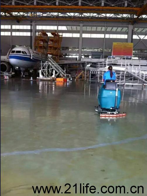 洁驰BA900BT双刷驾驶式洗地吸干机