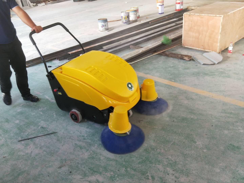 洁士M2B电动手推式扫地机/M2B手推式电动扫地机