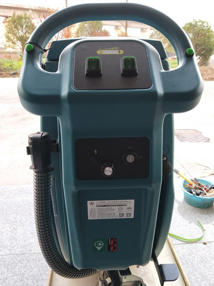 洁士AM800M大型手推式洗地机/电动手推式洗地机/手推式洗地吸干机(1)