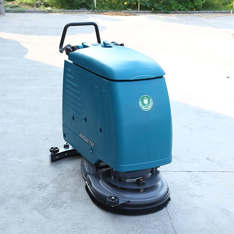 洁驰电动手推式洗地机