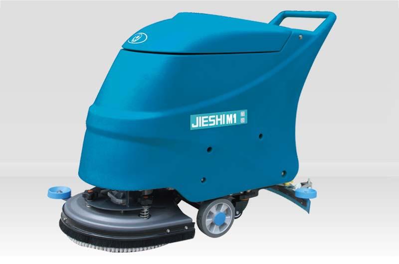 洁士M1手推式洗地机,洁士M1电瓶式洗地机,洁士M1手推式拖地机