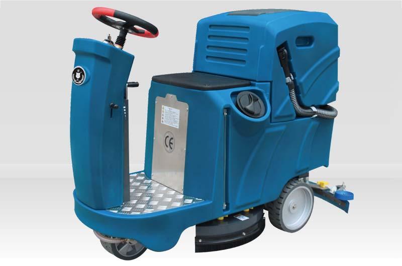(洁士M5小型电动驾驶式洗地吸干机)(适用于工厂、超市、地下车库、医院、汽车站、火车站、高铁站、飞机场等)
